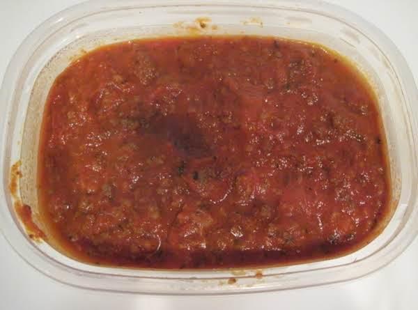 Spaghetti Sauce Sorta Scratch Recipe