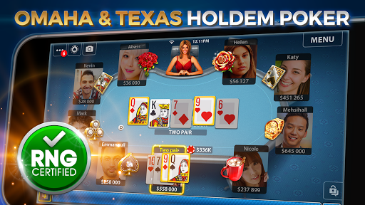Omaha & Texas Hold'em Poker: Pokerist 31.3.0 screenshots 5