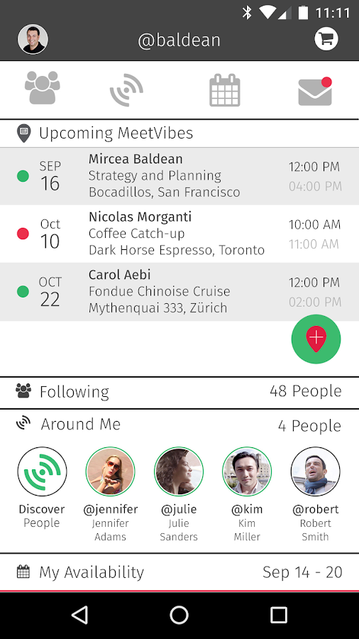 MeetVibe: Take Networking Further- screenshot