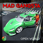 Mad Gangsta City Open World Extreme Racing Action Icon