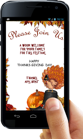 android Thanksgiving Invitation Letter Screenshot 26