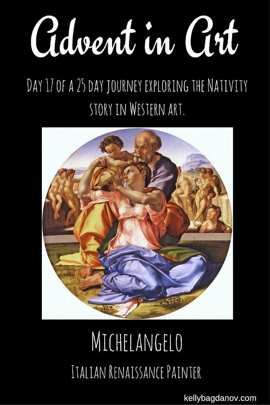Analysis of Michelangelo's Holy Family  #kellybagdanov # homeschool #homeschooling #classicalconversation #charlottemason #classicalconversationresource #classicalconversationcycle1 #charlottemasonpicturestudy #arteducation #arthistory #teachingarthistory #michelangelo #donotondo #holyfamily