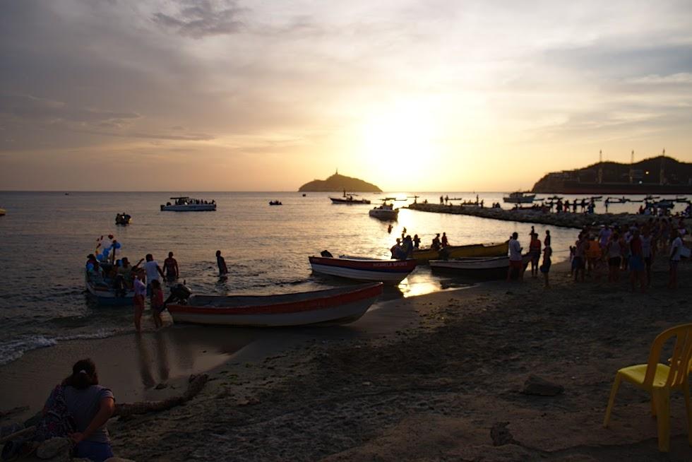 Santa Marta, wybrzeże