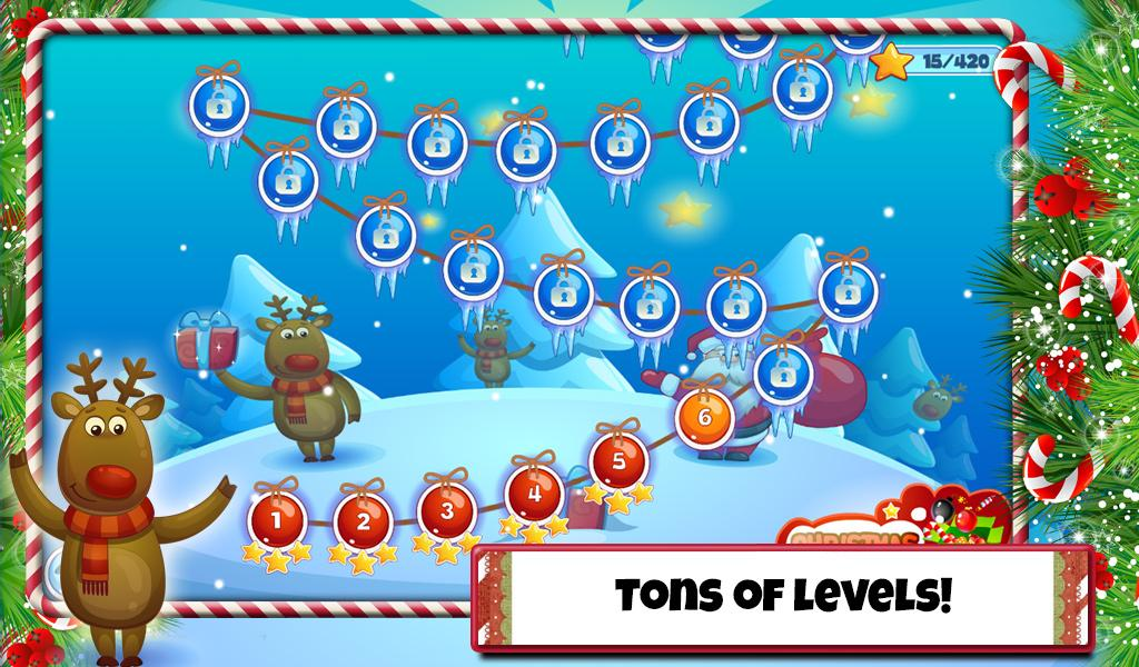 Christmas Sweeper 2 - Free Holiday Match 3 Game- screenshot