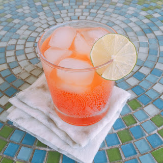 Strawberry Sunshine - Moonshine Cocktail.