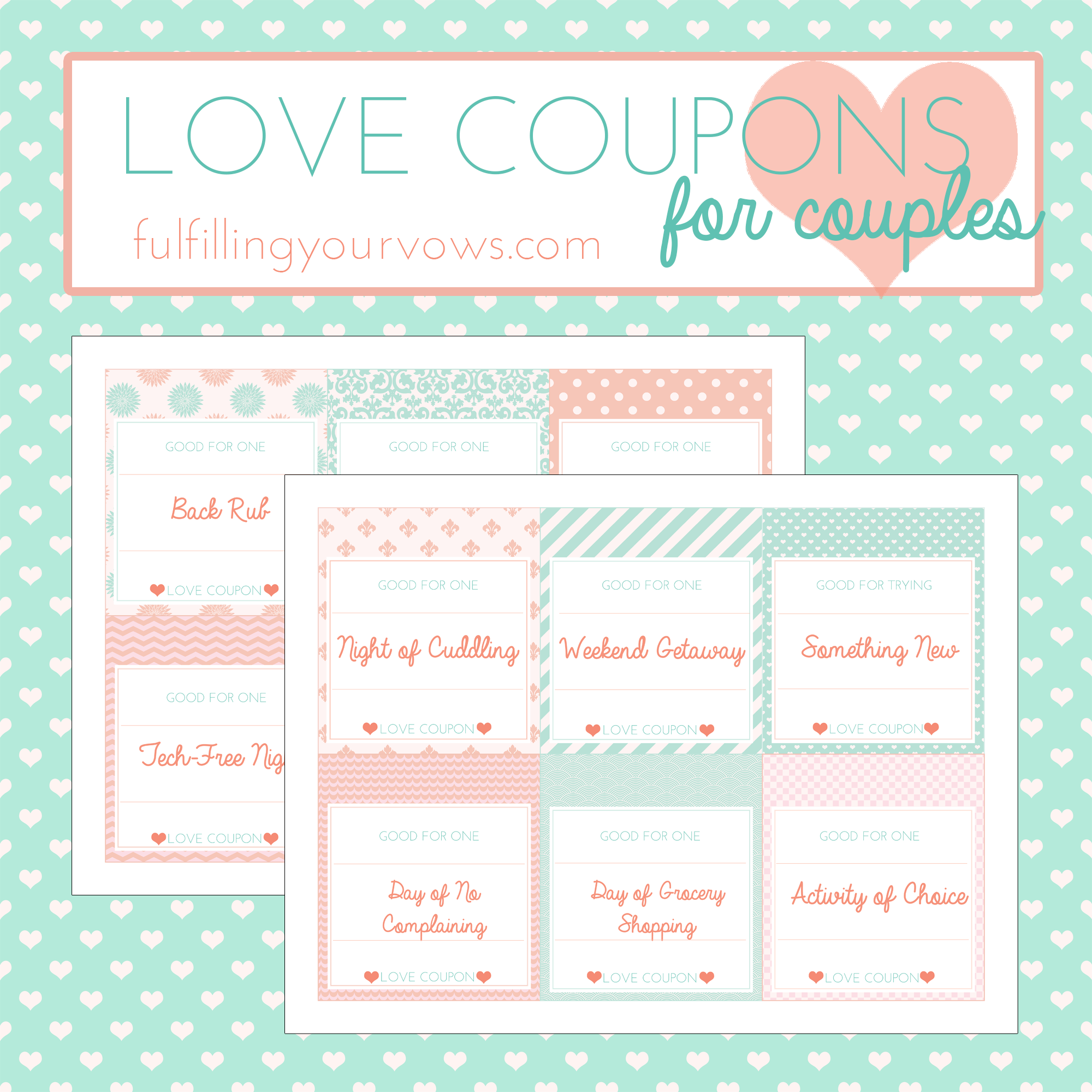 Click Here To Grab Your FREE LOVE COUPONS!