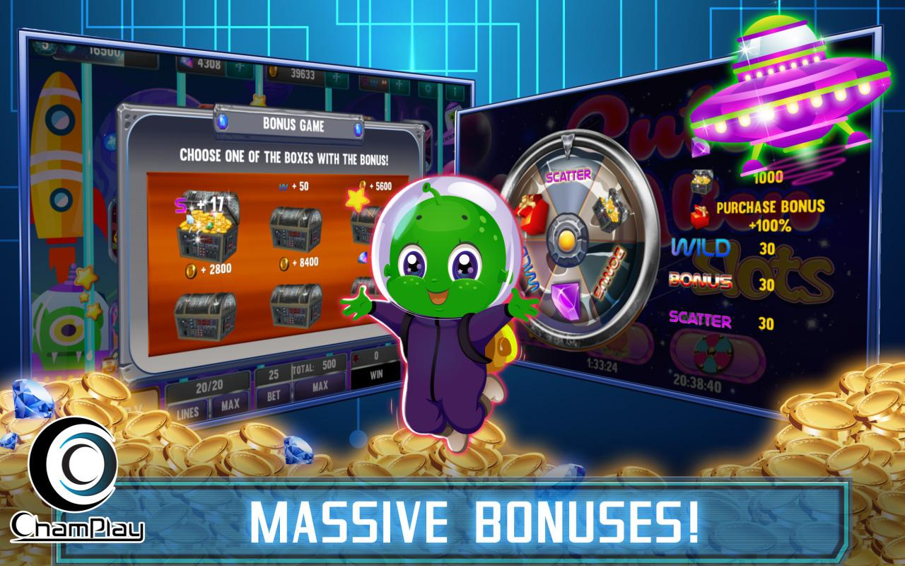 aliens slot machine wins on scared
