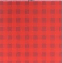 Bazzill Plaid Cardstock 12X12 - Wax Lips UTGÅENDE
