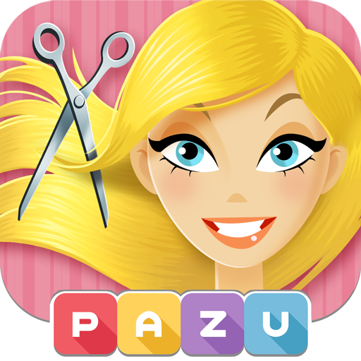 Girls Hair Salon - Hairstyle makeover kids games Icon