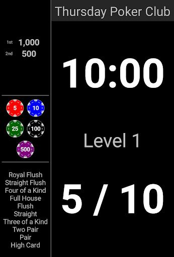 Blinds Are Up! Poker Timer filehippodl screenshot 11