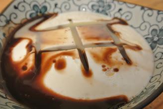 Photo: 鮮奶豆腐+巧克力醬+煉乳 不加冰