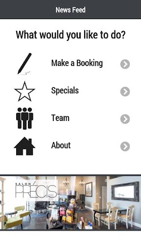 android Salon Precis Screenshot 0