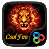 Cool Fire  GO Launcher Theme