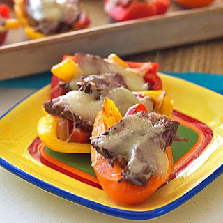 Steak Fajita Bell Pepper Boats