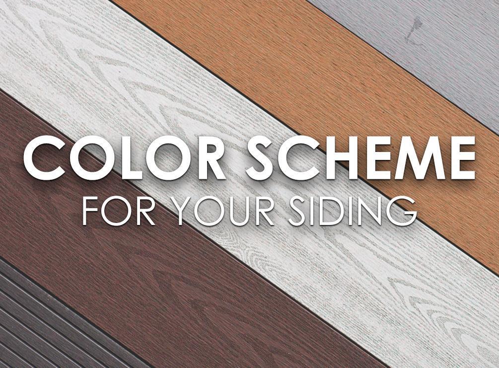 Color Scheme for Your Siding