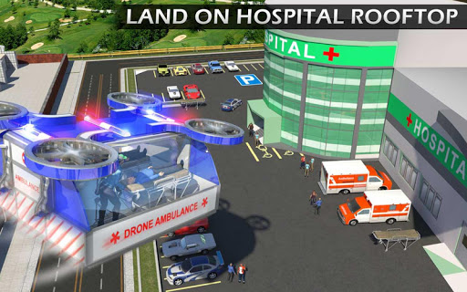 Heli Ambulance Rescue Team 3D Helicopter Simulator  screenshots 9
