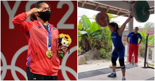 """""""Thank you Malaysia!"""" Filipina Weightlifter Who Trained in Melaka Wins First Gold For Philippines"""