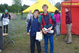 Photo: Киндрачук и Молдавчук сразу после финиша