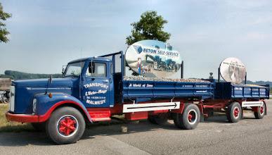 Photo: Dieser alte Scania-Vabis L76 aus den 60er Jahren hat bestimmt viel geleistet