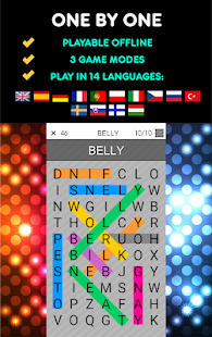 One By One - Multilingual Word Search Screenshot