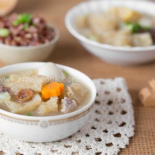 Nyonya Fish Maw Soup