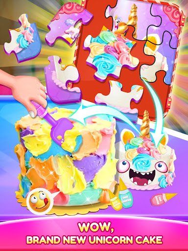 Unicorn Food - Cake Bakery 2.1 Screenshots 14