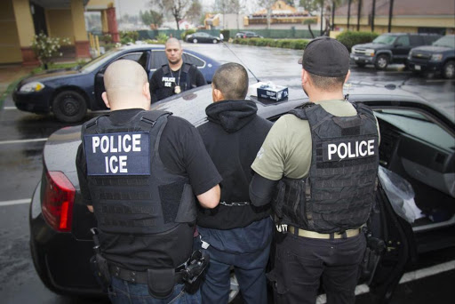 ICE arrests immigrants at court-ordered work detail