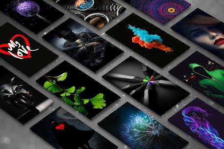 Black Wallpapers – 4K Dark & AMOLED Backgrounds 1