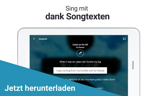 Deezer Musik & MP3 Player: Songs, Radio & Podcasts Screenshot