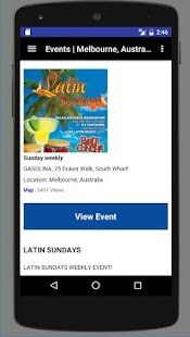 Latin Dance Calendar- screenshot thumbnail