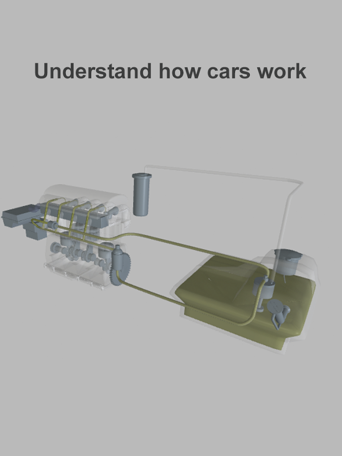 Explain 3D: How cars work- screenshot