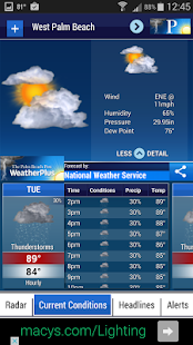 Palm Beach Post Weather- screenshot thumbnail