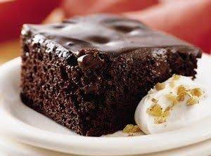Quick And Easy, Gooey Chocolate Cake