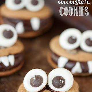 Chocolate Monster Cookies.