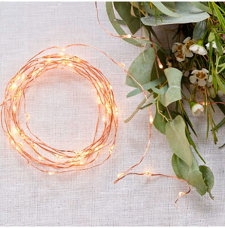 LED-slinga i roséguld - Beautiful Botanics