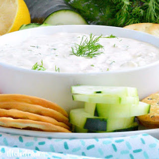 Easy Cucumber Dill Dip.