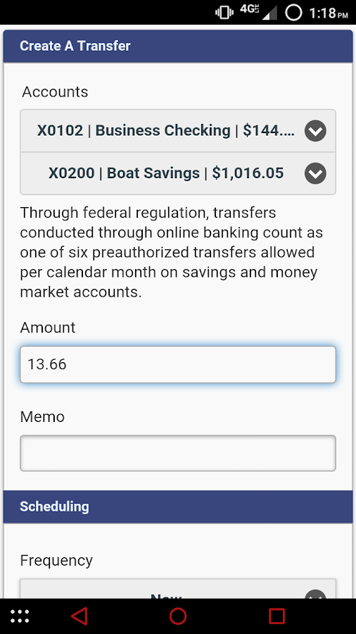 Pioneer Federal S&L- Montana- screenshot