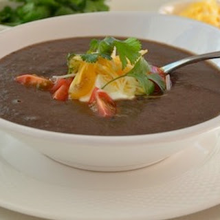 Black Bean Soup (Sos Pwa Nwa).