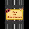 Car vs Roadblock icon