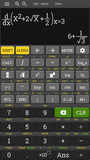 HP 35s Scientific Calculator fx 570 es plus free 3.4.6-build-02-09-2018-18-release screenshots 4