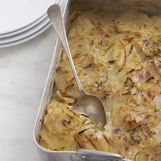 Boulangere Potatoes.