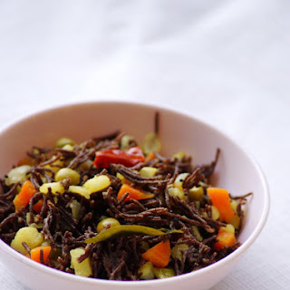 Vegetable Ragi Semiya Upma Recipe - Ragi Vermicelli Recipes - Indian Breakfast Recipes