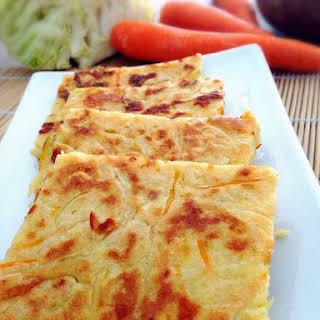 Vegetarian Cheese Pancake.