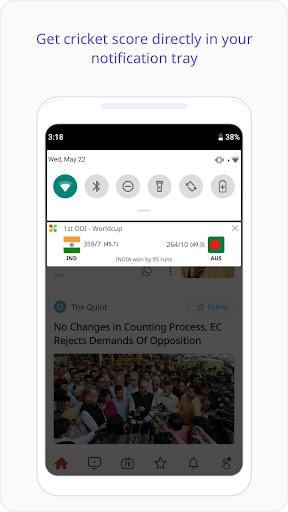 Dailyhunt (Newshunt)- Cricket, News,Videos 14.0.13 screenshots 2