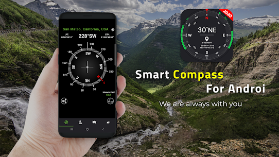 Digital Compass for Android 10