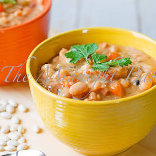 Northeast Hearty Bean Soup.