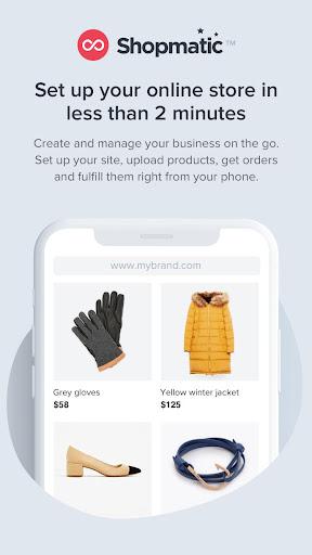 Shopmatic - Sell Online 2.0.4 screenshots 1