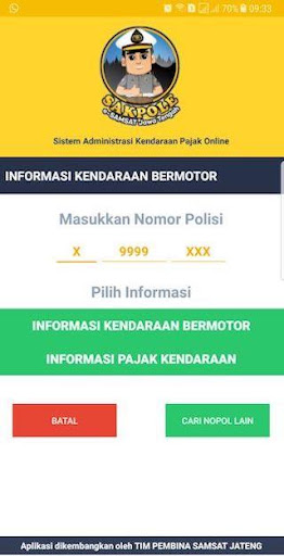 SAKPOLE e-SAMSAT JATENG 35 screenshots 4
