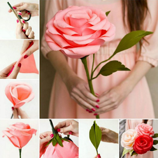 Diy paper flower android apps on google play diy paper flower screenshot thumbnail mightylinksfo