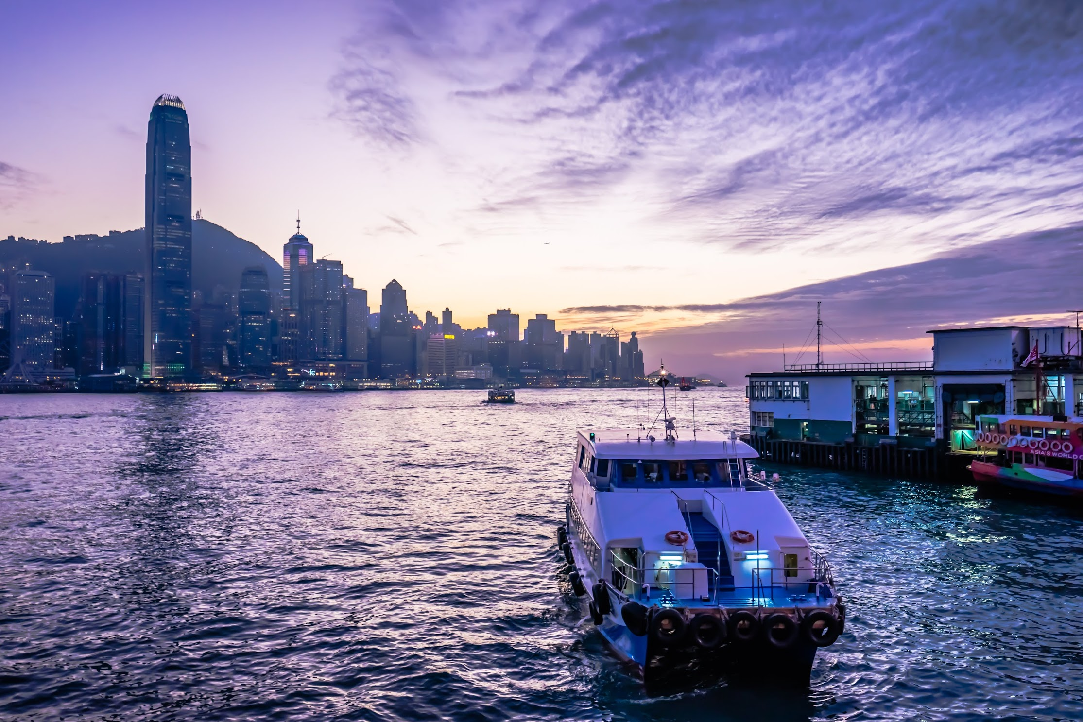 香港 尖沙咀 夕景4